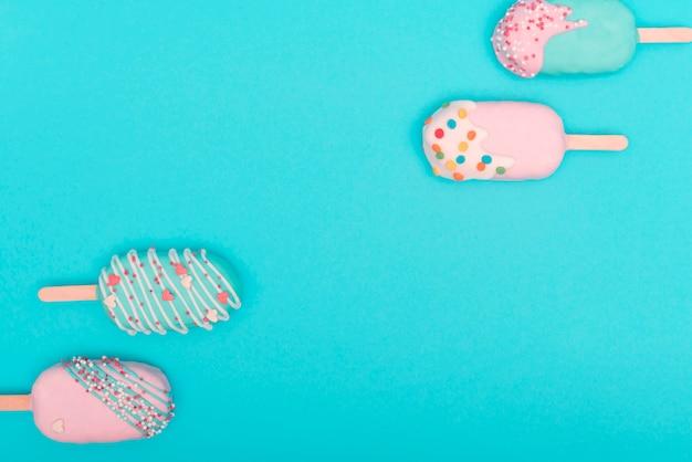 Kreatives kuchen-popkonzept