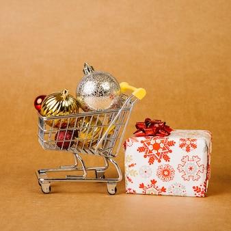 Kreatives weihnachtsverkaufskonzept