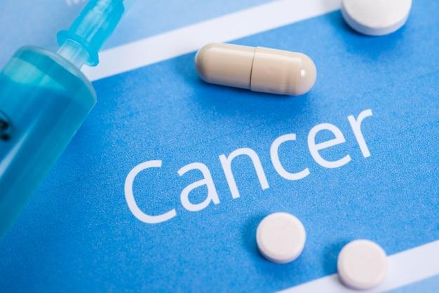 Krebsbezogene dokumente und medikamente