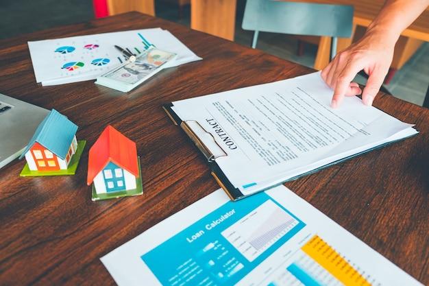 Kredit- und zahlungsrechner, finanzrechner, hausvertrag,