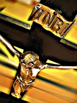 Kreuz jesus christus ostern religion inschrift