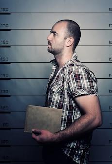 Kriminelles porträt