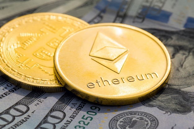 Kryptowährung goldene münzen