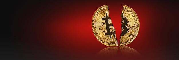 Kryptowährungskonzept