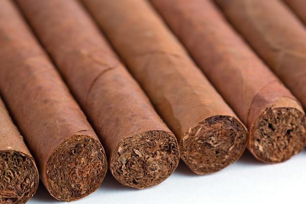 Kubanische zigarren isoliert
