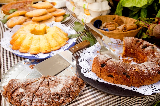 Kuchen gebäck süßigkeiten mediterrane bäckerei balearen