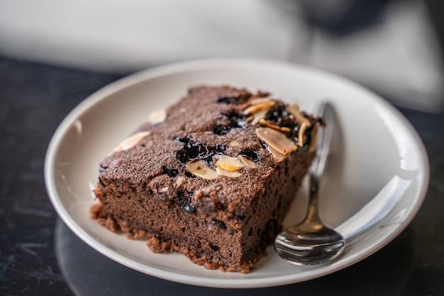 Kuchen in der platte