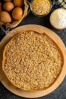 Kue hok lo pan oder martabak bangka ist dessert aus indonesien