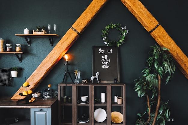 Küchenmöbel, regale und accessoires