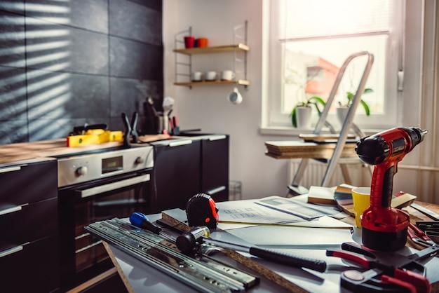 Küchenrenovierung durcheinander