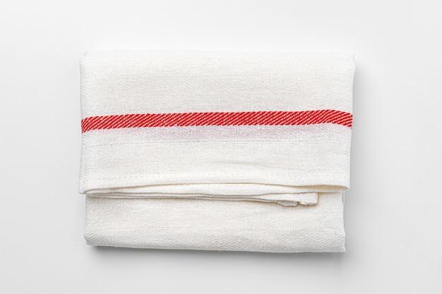 Küchentuch (serviette) isoliert Premium Fotos