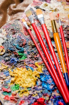 Künstler-farbpalette