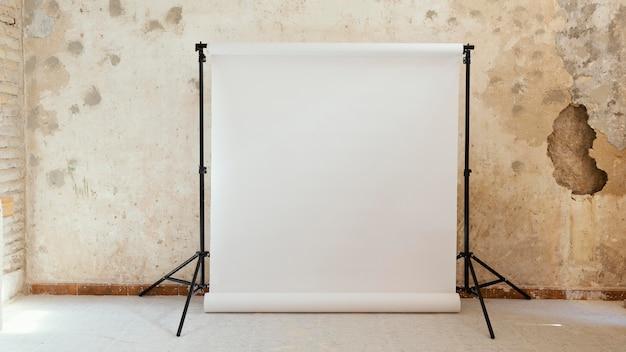 Künstler requisiten für die fotografie im studio