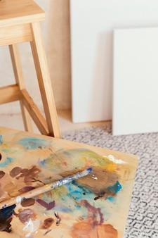 Künstler requisiten zum malen