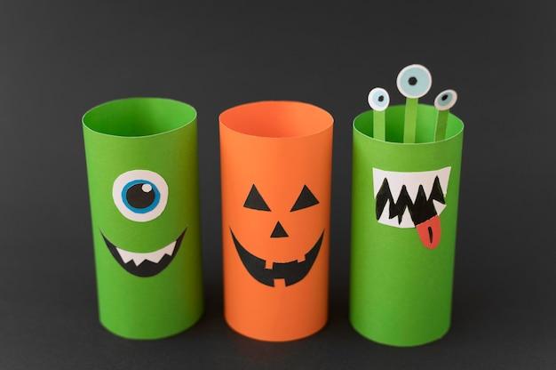 Künstlerische dekorationen für halloween
