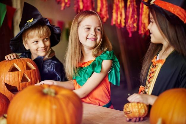 Kürbis als symbol für halloween