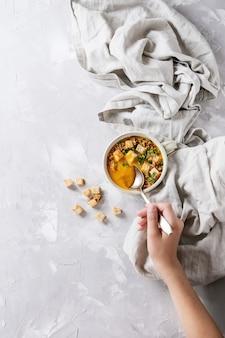 Kürbiskarottensuppe
