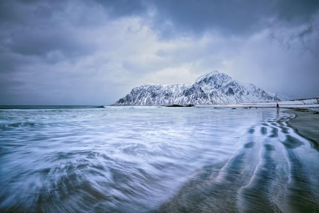 Küste des norwegischen meeres