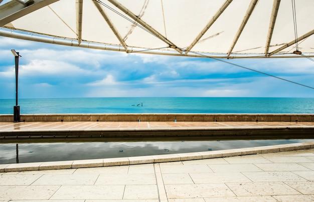 Küste von grado, italien