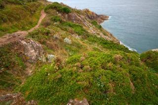 Küsten saint malo landschaft hdr-bild