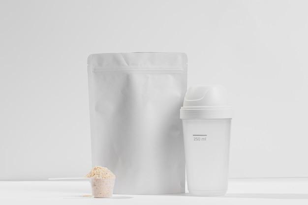 Kugel nahrungsergänzungsmittel und behälter