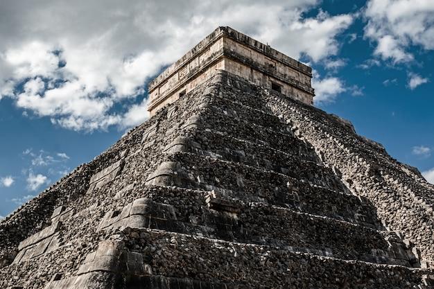 Kukulcan tempel in chichen itza