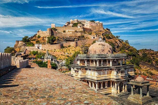 Kumbhalgarh fort, indien