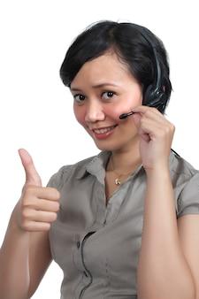 Kundendienst-agent