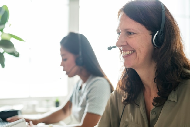 Kundendienstkontakt mit kunden