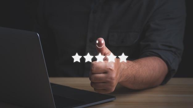 Kundenzufriedenheitskonzept