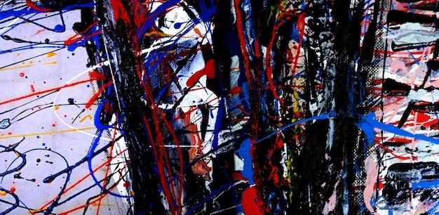 Kunstmalerei auf leinwand abstrakten hintergrund mit strukturiertem