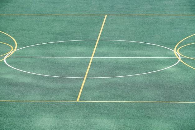 Kunstrasen des fußballplatzes