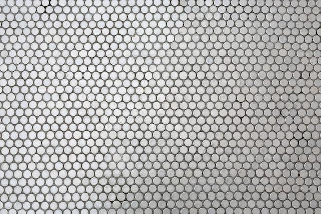 Kunststoffgitter mit runden löchern, gartendekoration
