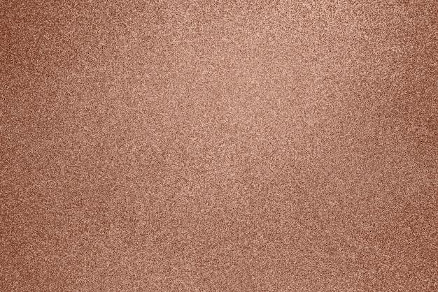 Kupfer glitter textur weihnachten abstrakten hintergrund. glänzender glitzer-kupferhintergrund