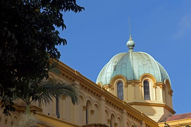 Kuppel der kirche von santa cecilia, in sao paulo