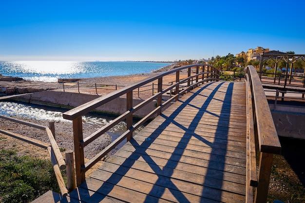La llosa strand in castellon von spanien