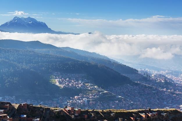 La paz stadt in bolivien, südamerika