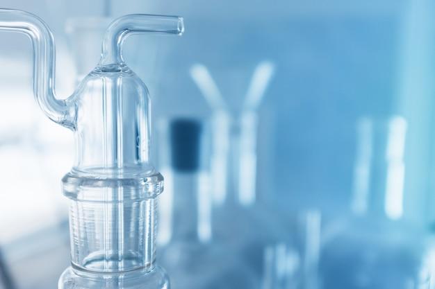 Laborglaswaren, forschungslabor und entwicklungskonzept