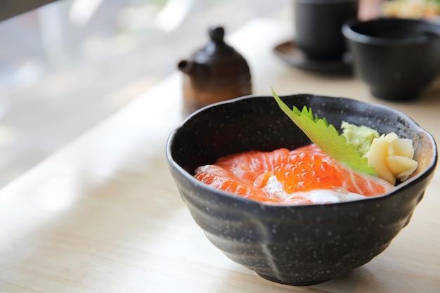 Lachs sushi don