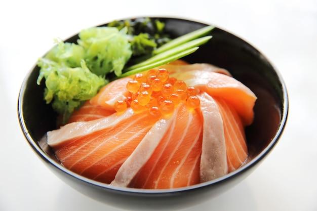 Lachs-sushi-reis don