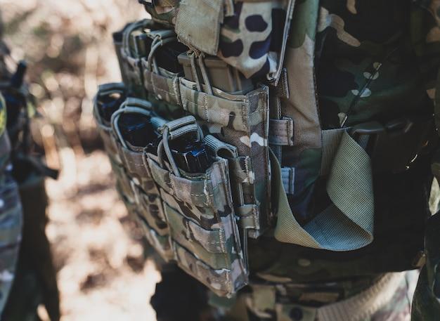 Ladegeräte für luftgewehre, airsoft-militärspiel.