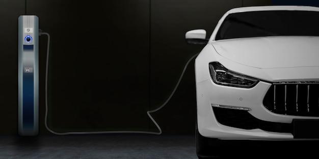 Ladestation für elektroautos für zu hause