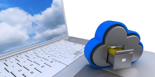 Lagerung in der cloud