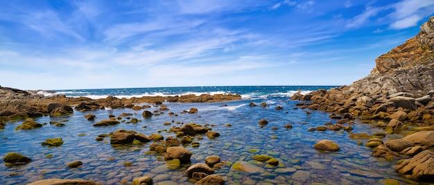 Lago dos nenos see in islas cies inseln von vigo