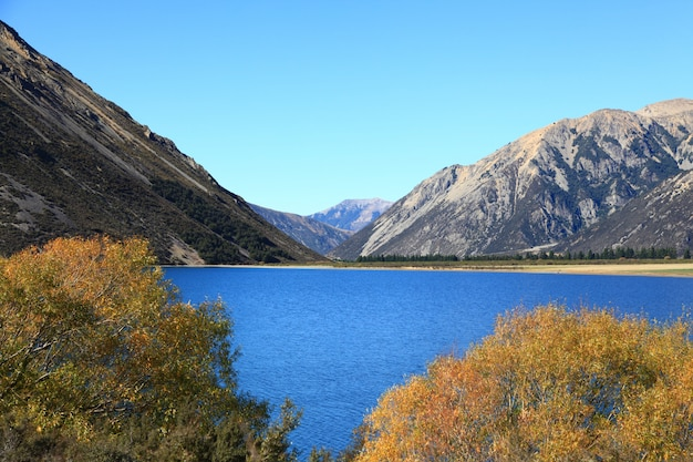 Lake pearson neuseeland