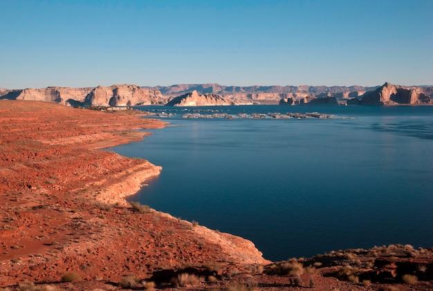 Lake powell, arizona-utah, usa