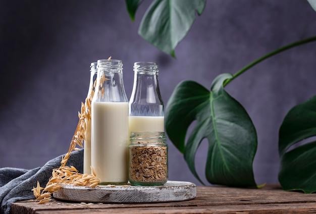Laktosefreie buchweizenmilch ohne milchprodukte