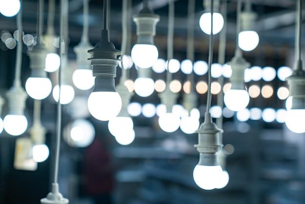Lampe, dekorative glühbirne im haus
