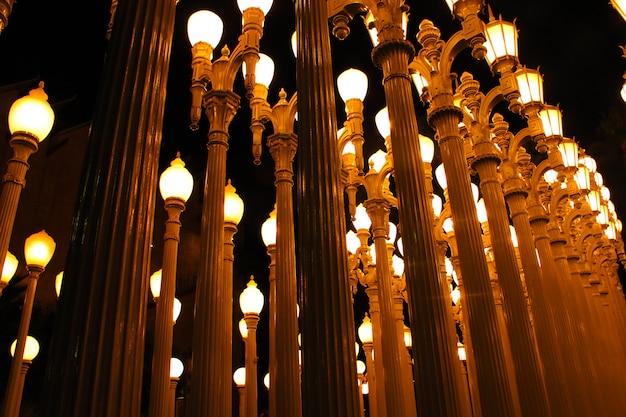 Lampen in der nacht