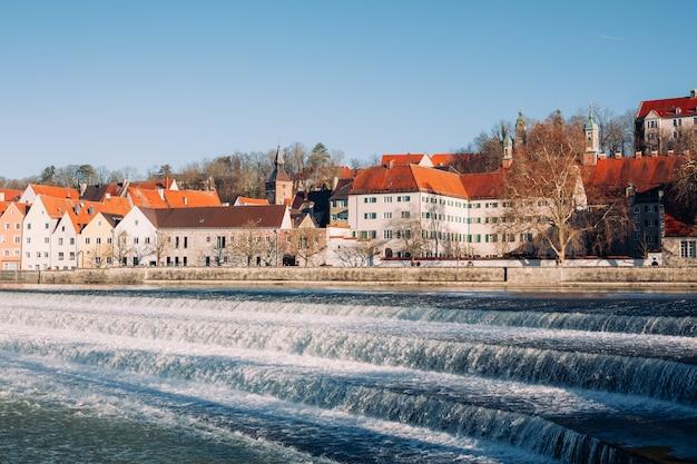 Landsberg am lech im winter, in bayern deutschland